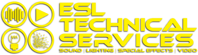 esl technical services logo yellow